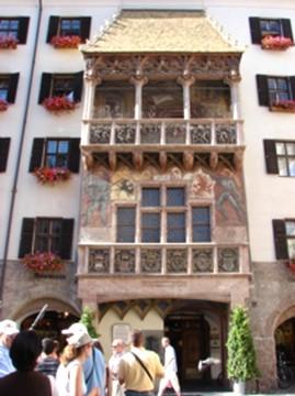 casa del Tejado de Oro, Insbruck