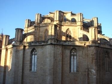 Abside catedral de Tortosa