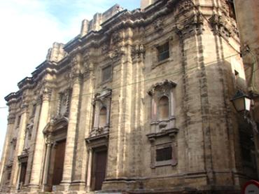 fachada barroca de la catedral de Tortosa