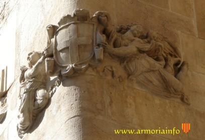 Escudo antiguo de Catalunya
